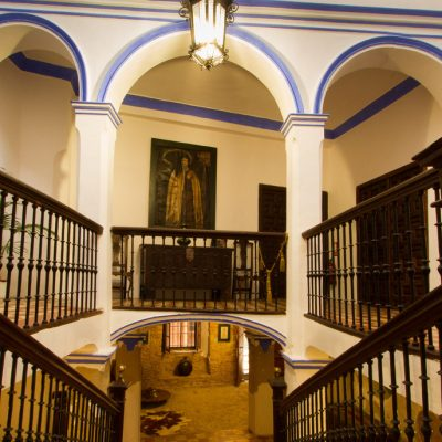 Escalera de la entrada principal